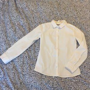 girls' Dress Shirt - Size M (8)